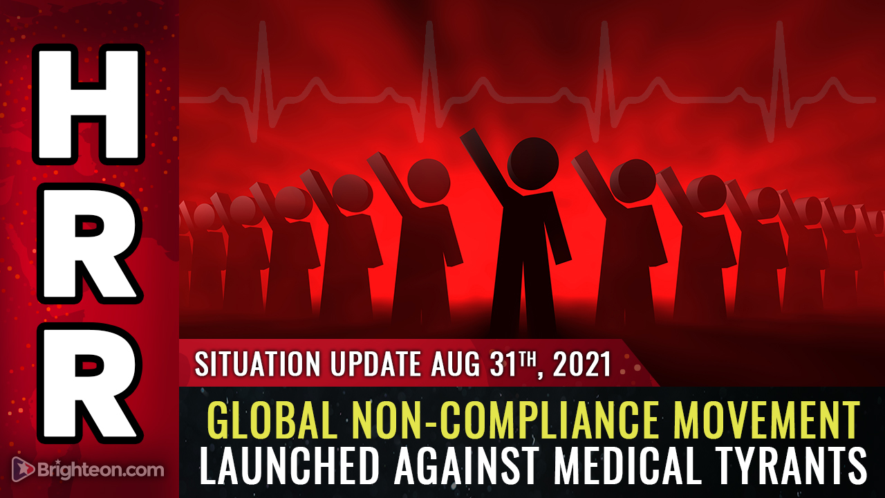Image: The resistance begins NOW: Global non-compliance movement launched against medical tyranny