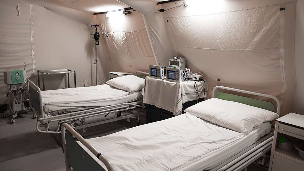 Image: PROOF: Hospitals are lying about being overrun with covid patients… many facilities are EMPTY