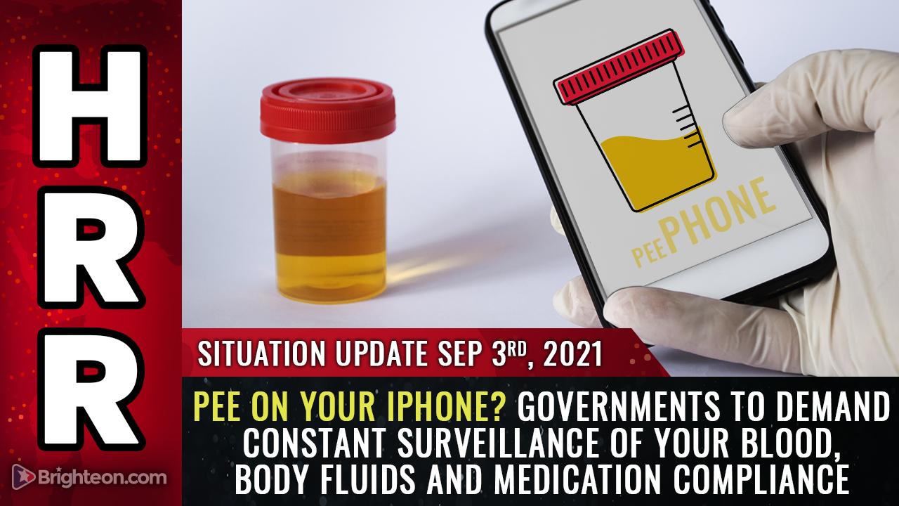 Covid als Vorwand: Regierungen, die eine ständige Überwachung von Blut, Körperflüssigkeiten und Medikamenten verlangen werden