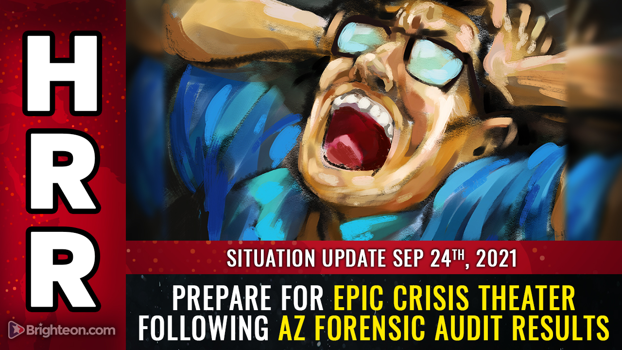 """AZ forensic audit results show SYSTEMIC fraud, faked votes, more than 5X the margin of """"victory"""" from just one county out of the entire state ... prepare for CRISIS THEATER distractions"""