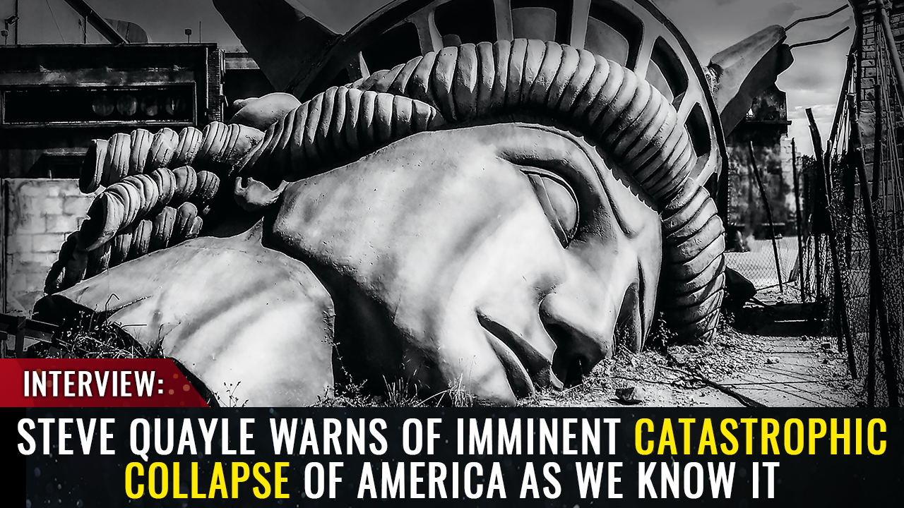 Image: Steve Quayle warns Mike Adams: NO MORE ELECTIONS – An imminent catastrophic collapse threatens to take down America before the 2022 mid-terms