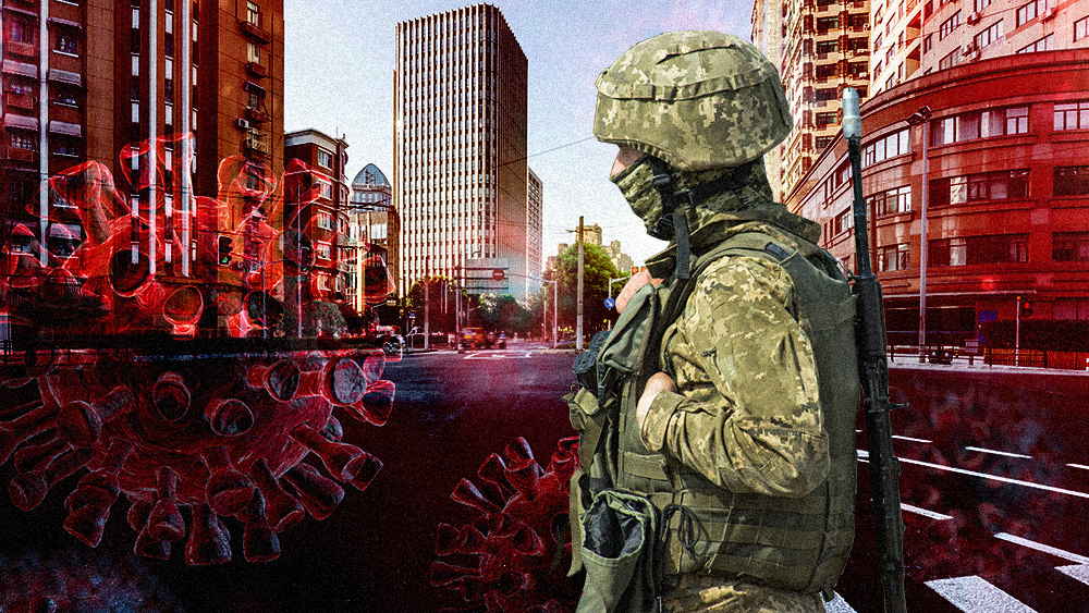 Image: New York initiates medical martial law rollout with troops to take over hospitals where unvaxxed health care workers are being fired en masse