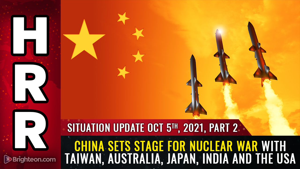 Image: WAR ALERT: China setting stage for NUCLEAR WAR with Taiwan, Australia, Japan, India and the USA