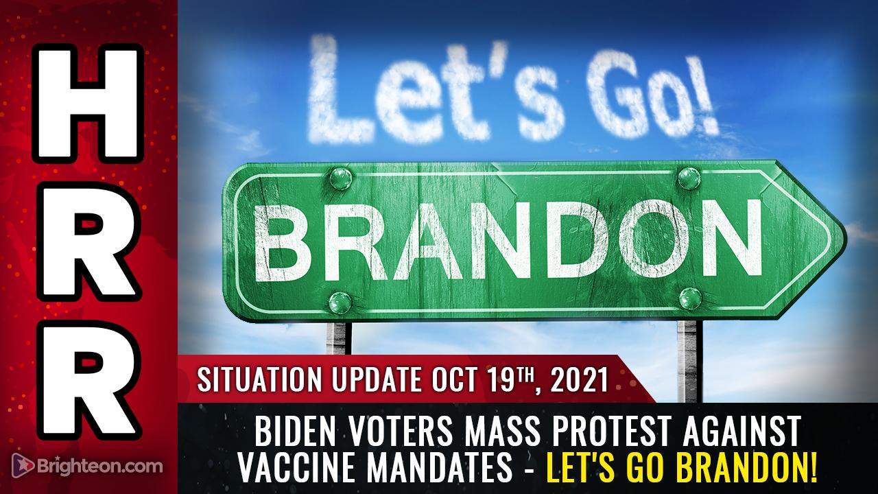 MASSENPROTESTE brechen in ganz Amerika aus; selbst Biden-Wähler lehnen tyrannische Impfvorschriften ab …