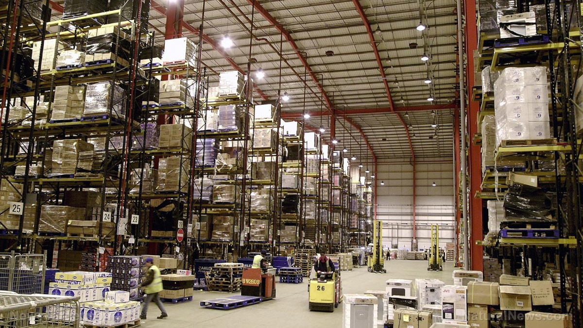 Image: 'System collapse': Supply chain workers warn of impending breakdown because COVID shutdowns have drained the workforce and worsened product shortages